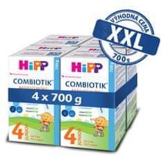 HiPP 4 Junior Combiotik Batoľacie mlieko 4x700 g
