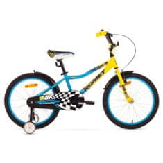 Romet Salto 20 otroško kolo, rumeno-modro