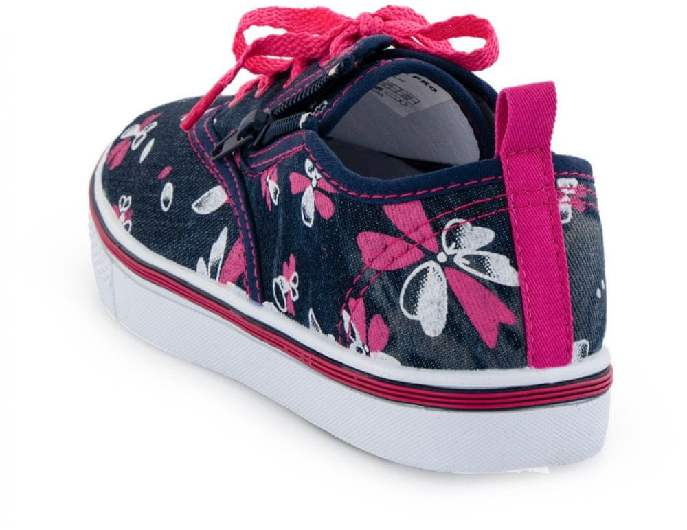 ALPINE PRO dívčí obuv SAIRO 35 růžová/modrá