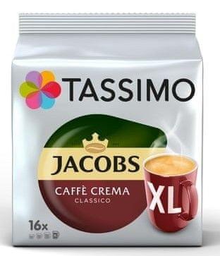 Jacobs TASSIMOCAFE CREMA XL 8 ks