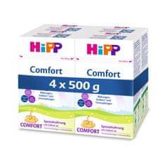 HiPP Špeciálna dojčenská výživa Comfort, od narodenia, 4 x 500 g