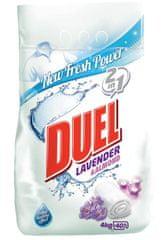 DUEL Lavander & Almond pralni prašek, 4 kg