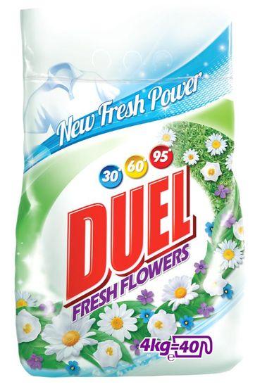 DUEL Fresh Flowers pralni prašek, 4 kg