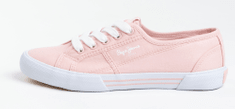 Pepe Jeans dámské tenisky Aberlady Eco PLS31016 38 růžová