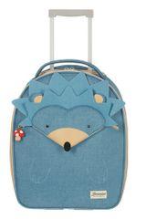 Samsonite Dětský cestovní kufr Happy Sammies Upright Hedgehog Harris 24 l modrá