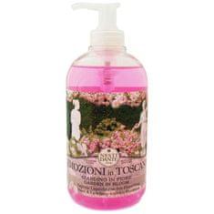 Nesti Dante přírodní tekuté mýdlo Emozioni in Toscana, Rozkvetlá zahrada 500 ml