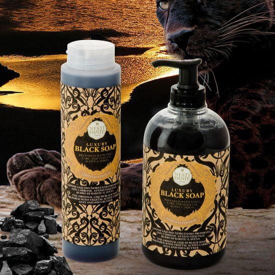 Nesti Dante přírodní tekuté mýdlo s karbonem Luxury Black Soap 500 ml