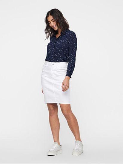 Vero Moda Női szoknya Hot Nine Hw Dnm Pencil Skirt Mix Noos Bright White