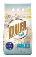 DUEL Gold Fresh + Clean pralni prašek, 3 kg
