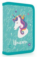 Karton P+P Školní penál 1 patrový Unicorn iconic plný