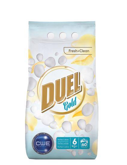 Duel Gold Fresh + Clean prašak za pranje, 6 kg