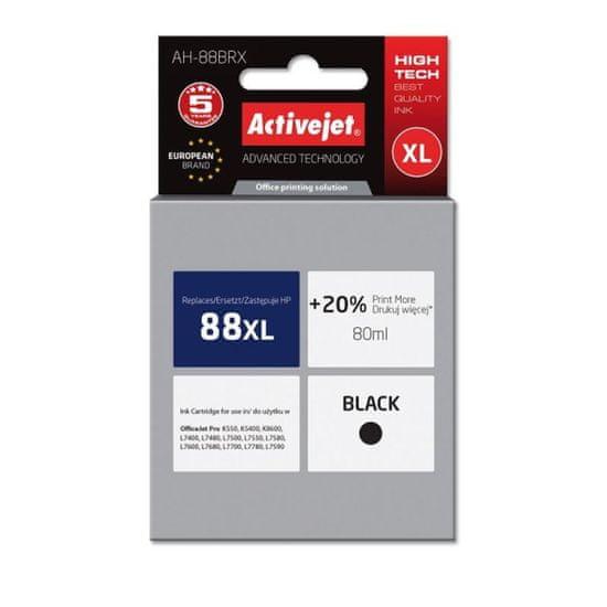 ActiveJet kompatibilna tinta HP 88XL C9396AE, crna