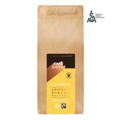 Cafédirect BIO Zrnková káva Honduras SCA 83 s tóny karamelu a oříšků 1kg