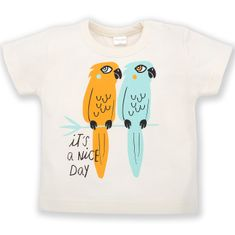 PINOKIO tričko Summer Nice Day 74 krémová