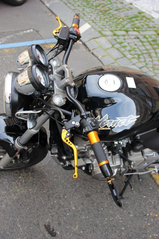 M-Style MSD1 řídítka 22mm Honda - Barva : Lesklá modrá
