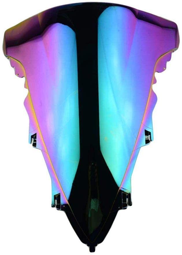 M-Style Plexi štít iridiový Yamaha YZF R1 2009-2014