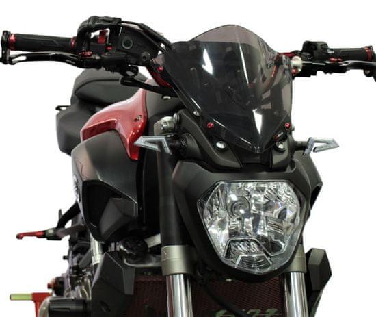 M-Style Plexi štít kouřový Yamaha MT-07 14-17