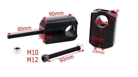 M-Style  Flat 50 představce 28,6mm Husqvarna