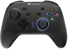 Canyon 4 v 1 bezdrôtový gamepad (CND-GPW3)