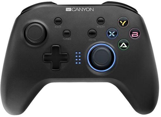 Canyon 4 v 1 bezdrátový gamepad (CND-GPW3)