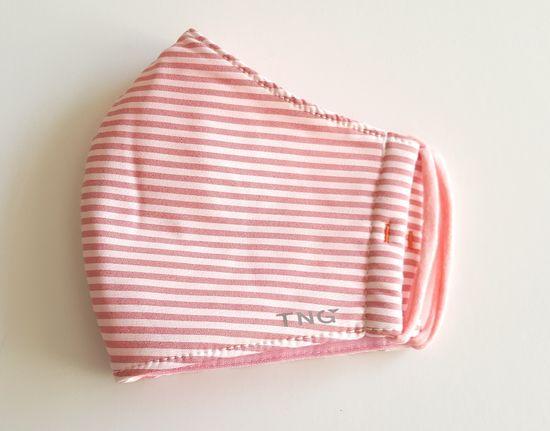 Textilní rouška, 3 vrstvá, M, 5 ks, různé barvy