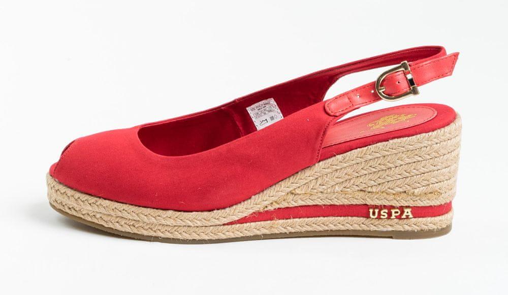U.S. Polo Assn. dámské sandály VICTORIA ROPE 4089S0/CY3 36 červená