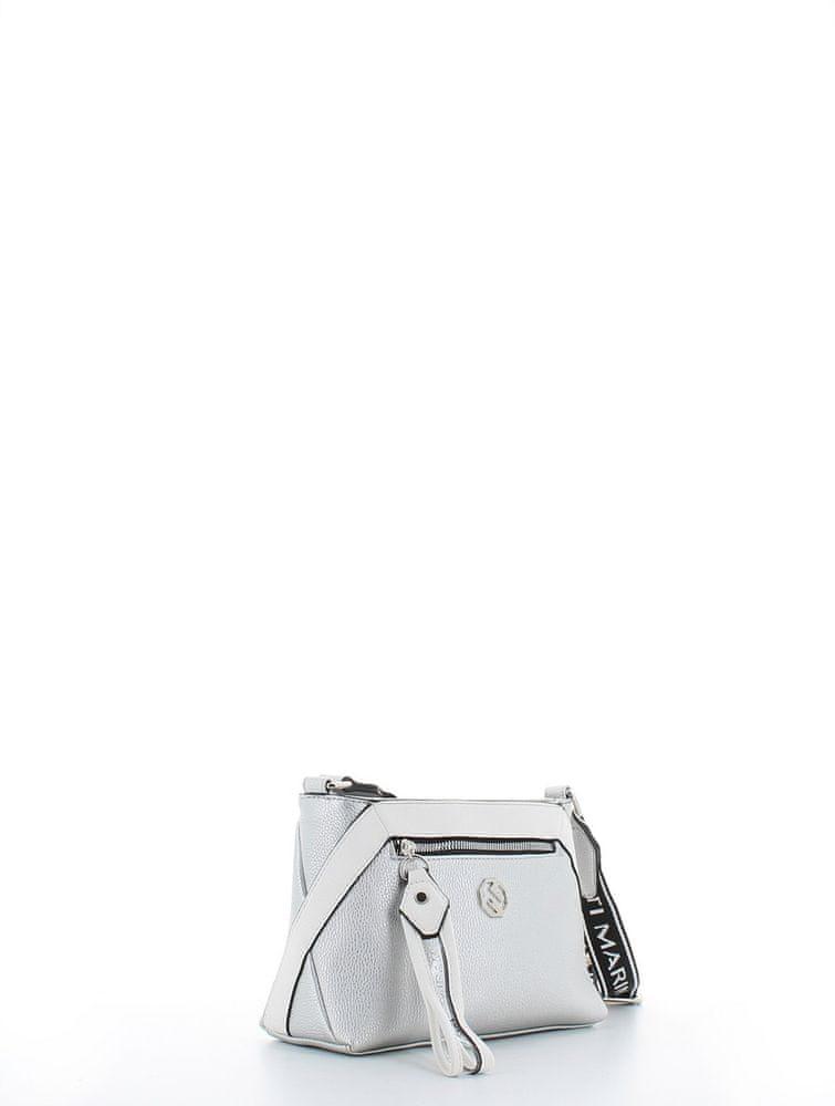 Marina Galanti crossbody kabelka - stříbrná