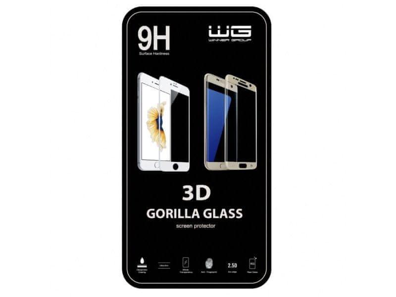Winner Tvrzené sklo 3D Samsung Galaxy S8 (Case friendly) (Černé) 6329
