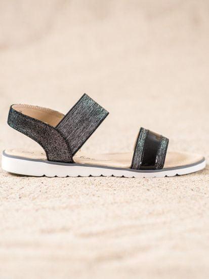 Sandały damskie 63357 + Skarpetki Gatta Calzino Strech