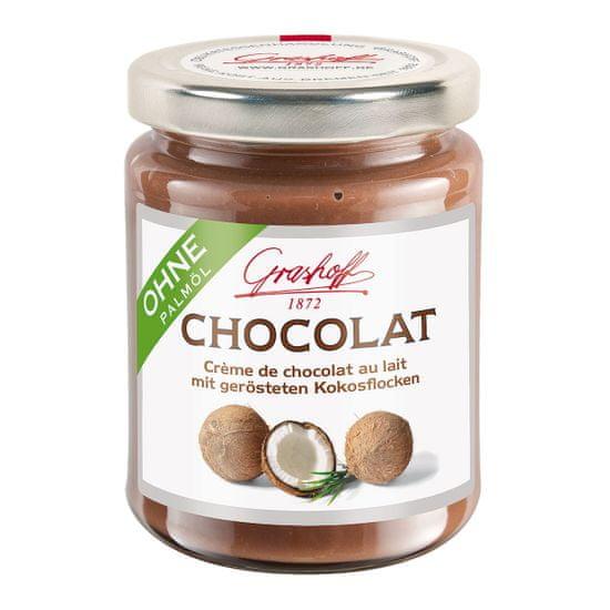 Grashoff Mléčný čokoládový krém s kokosem, 235g