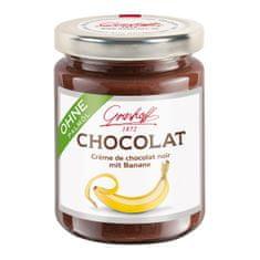 Grashoff Tmavý čokoládový krém s banánem, 250g