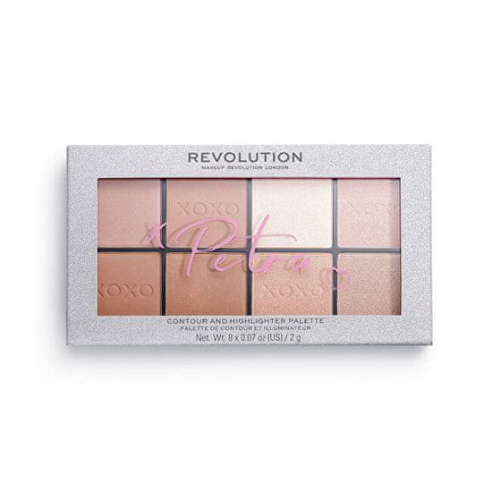 Makeup Revolution X Petra XOXO (Contour and Highlighter Palette) 16 g