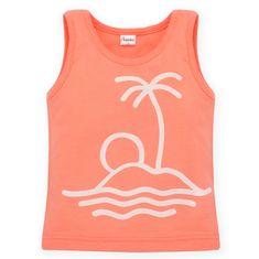 PINOKIO Sun&FUN majica, 74, oranžna