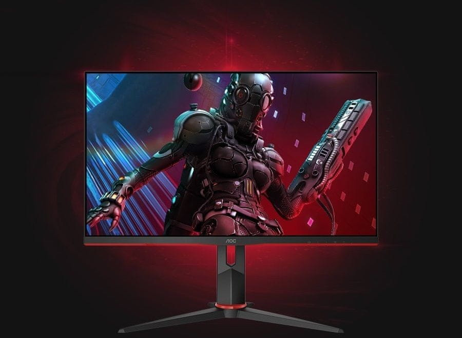 monitor gamingowy AOC Q27G2U (Q27G2U/BK) częstotliwość odświeżania 75 Hz