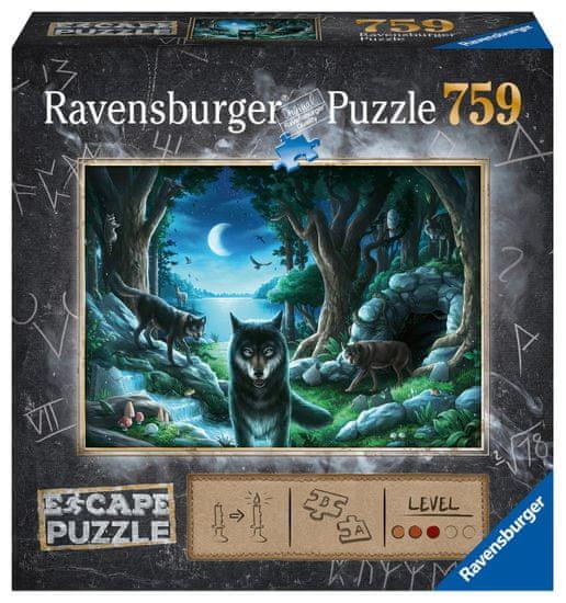 Ravensburger sestavljanka Exit Puzzle: Volk, 759 kosov
