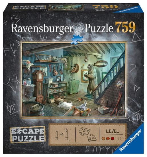 Ravensburger puzzle Exit: Zamknięta piwnica, 759 elementy