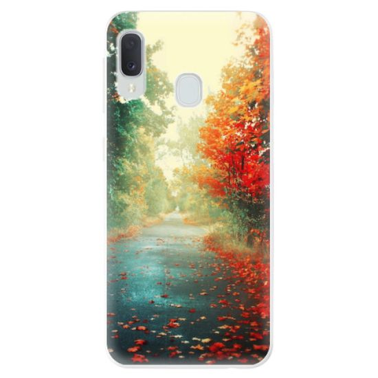 iSaprio Silikonowe etui - Autumn 03 na Samsung Galaxy A20e