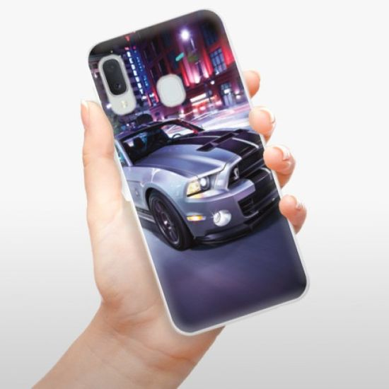 iSaprio Silikonowe etui - Mustang na Samsung Galaxy A20e