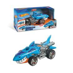 Hot Wheels Monster Sharkruiser L&S avto, 23 cm