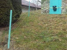 Ramda opornik PVC s perforacijo PVC, fi 3,7 x 125 cm (KP 941393)