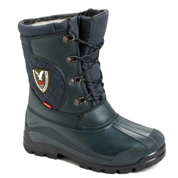 Demar Pánská zimní obuv Demar LOGAN 3815 zelená Velikost: 47