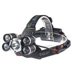 commshop Nabíjacia LED čelovka - dosvit až 500m