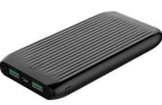 Orico FIREFLY-K10S, 10.000 mAh prenosna polnilna baterija, črna