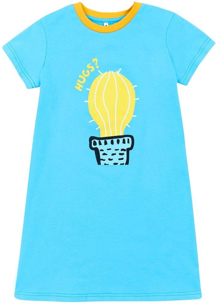 Garnamama noční košilka 128 modrá