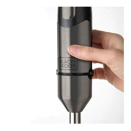 Black+Decker Mikser ręczny; Wysoka moc 1000 W Ergonomiczna zmienna prędkość 2 b, 9204557   Mikser ręczny; Wysoka moc 1000 W Ergonomiczna regulacja prędkości 2 przyciski i regulator prędkości