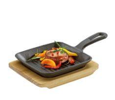 Küchenprofi Mini servírovacia panvica s lopárikom, BBQ