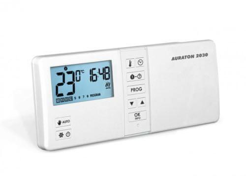 Auraton Prostorový termostat 2030 - programovatelný, kabelový