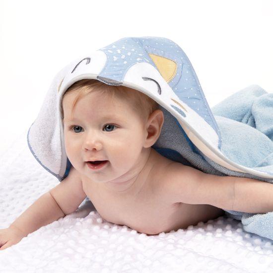 Canpol babies mekani ručnik s kapuljačom, 100x100 cm