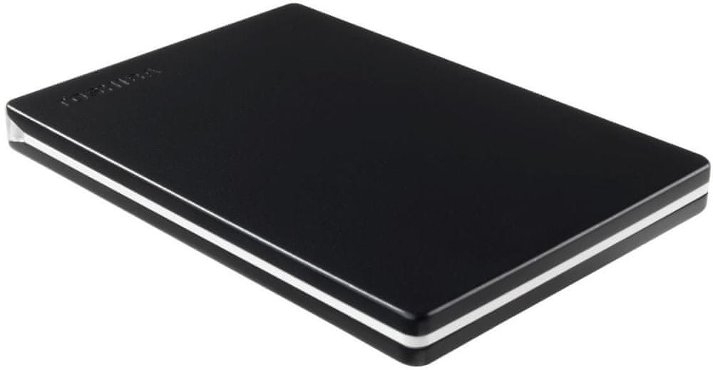 TOSHIBA Canvio Slim 1TB, černá (HDTD310EK3DA)