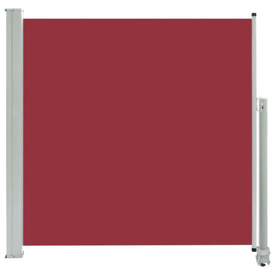 shumee Wysuwana markiza boczna na taras, 160 x 300 cm, czerwona
